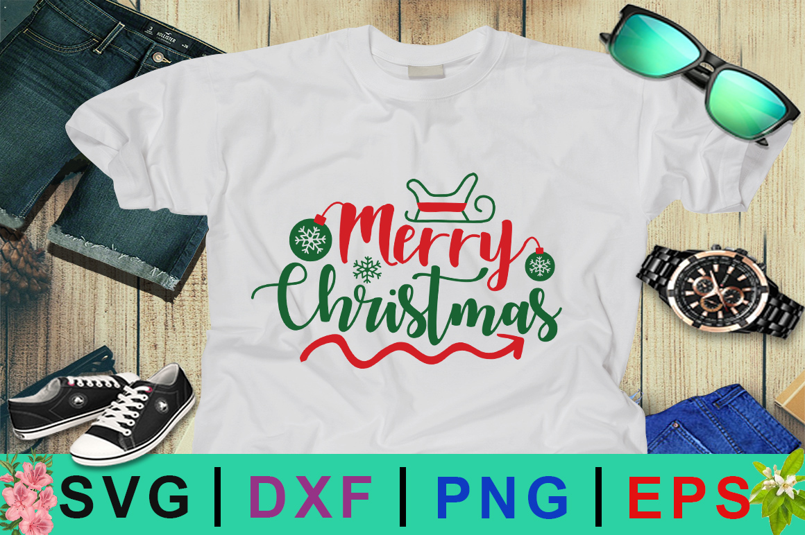 Download Free Merry Christmas Day Svg Graphic By Design Palace Creative Fabrica for Cricut Explore, Silhouette and other cutting machines.