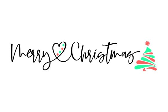 Download Free Merry Christmas With Tree Svg Grafico Por Studio 26 Design Co for Cricut Explore, Silhouette and other cutting machines.
