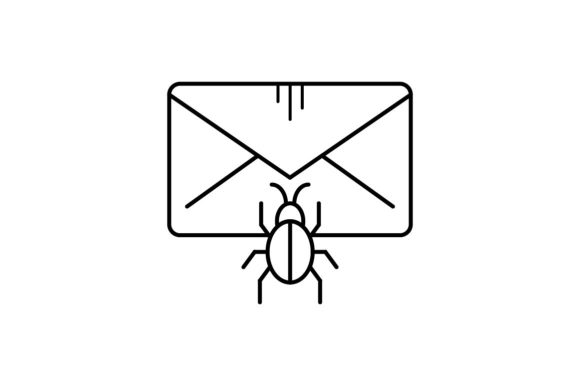 Print on Demand: Message Infested Graphic Icons By khld939