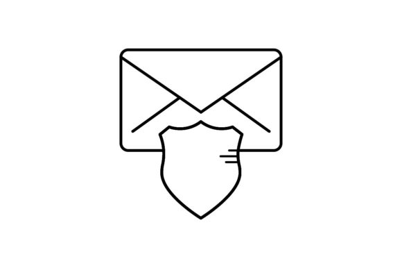 Print on Demand: Message Protection Graphic Icons By khld939