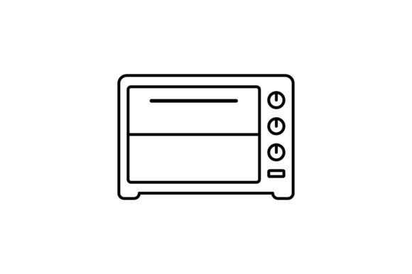 Print on Demand: Microwave Graphic Icons By khld939