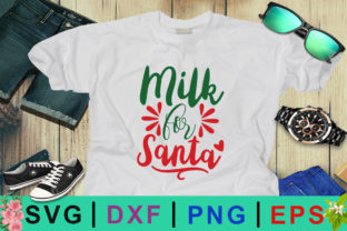 Milk for Santa Christmas SVG Graphic By Design Palace