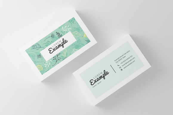 Download Free Minimal Business Card Design Graphic By Slash Creative Fabrica for Cricut Explore, Silhouette and other cutting machines.