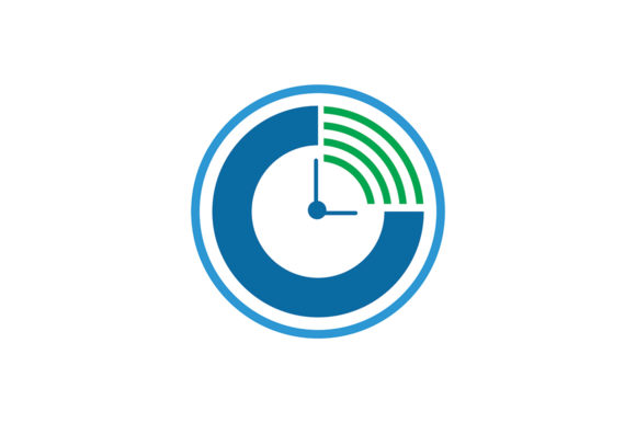Download Free Modern Clock Icon Graphic By Friendesigns Creative Fabrica for Cricut Explore, Silhouette and other cutting machines.