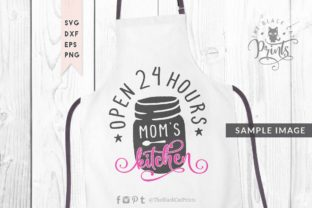 Download Free Mom S Kitchen Graphic By Theblackcatprints Creative Fabrica for Cricut Explore, Silhouette and other cutting machines.