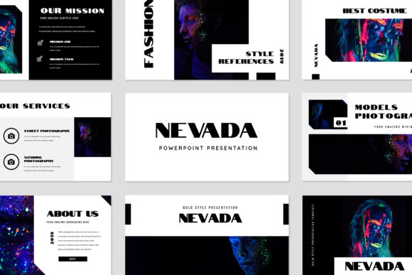 Nevada Powerpoint Presentation Graphic By TMint