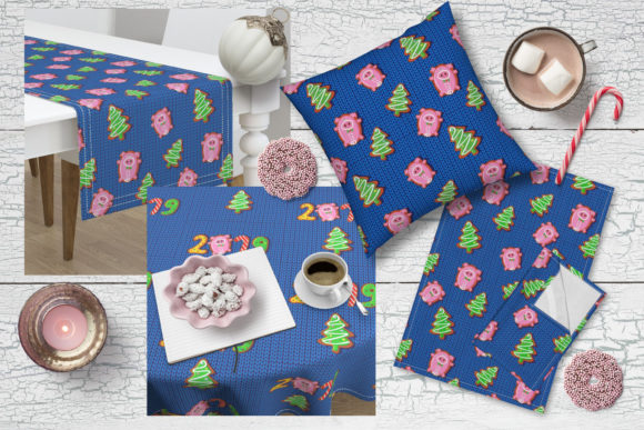New Year Patterns 2019 Year of Pig
