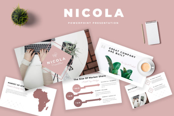 Nicola Powerpoint Presentation Graphic Presentation Templates By TMint - Image 1