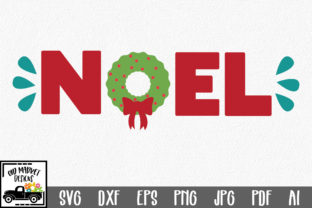 Noel SVG - Christmas SVG Cut File Graphic By oldmarketdesigns