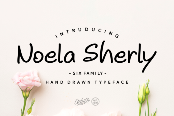 Print on Demand: Noela Sherly Script & Handwritten Font By Adyfo (7NTypes)
