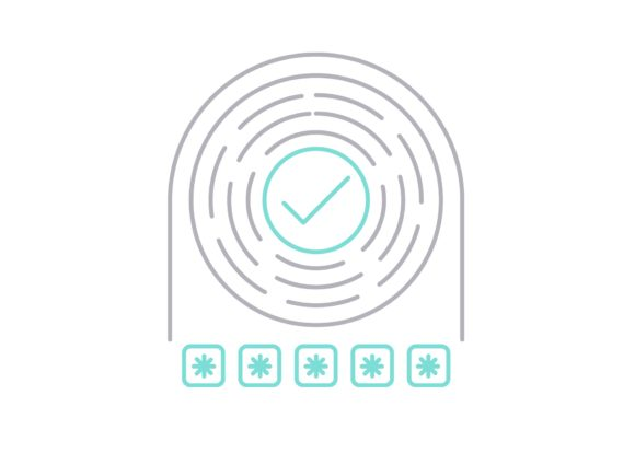 Print on Demand: Open Password Graphic Icons By Iconika