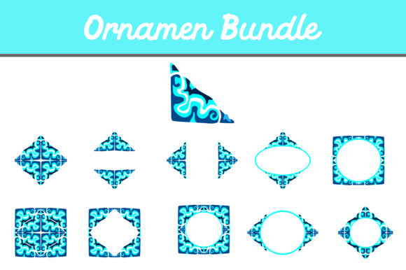 Print on Demand: Ornament Bundle Graphic Illustrations By Arief Sapta Adjie