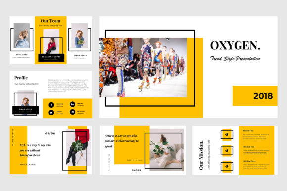 Oxygen Powerpoint Presentation Graphic Presentation Templates By TMint - Image 2