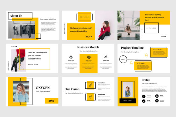 Oxygen Powerpoint Presentation Graphic Presentation Templates By TMint - Image 3