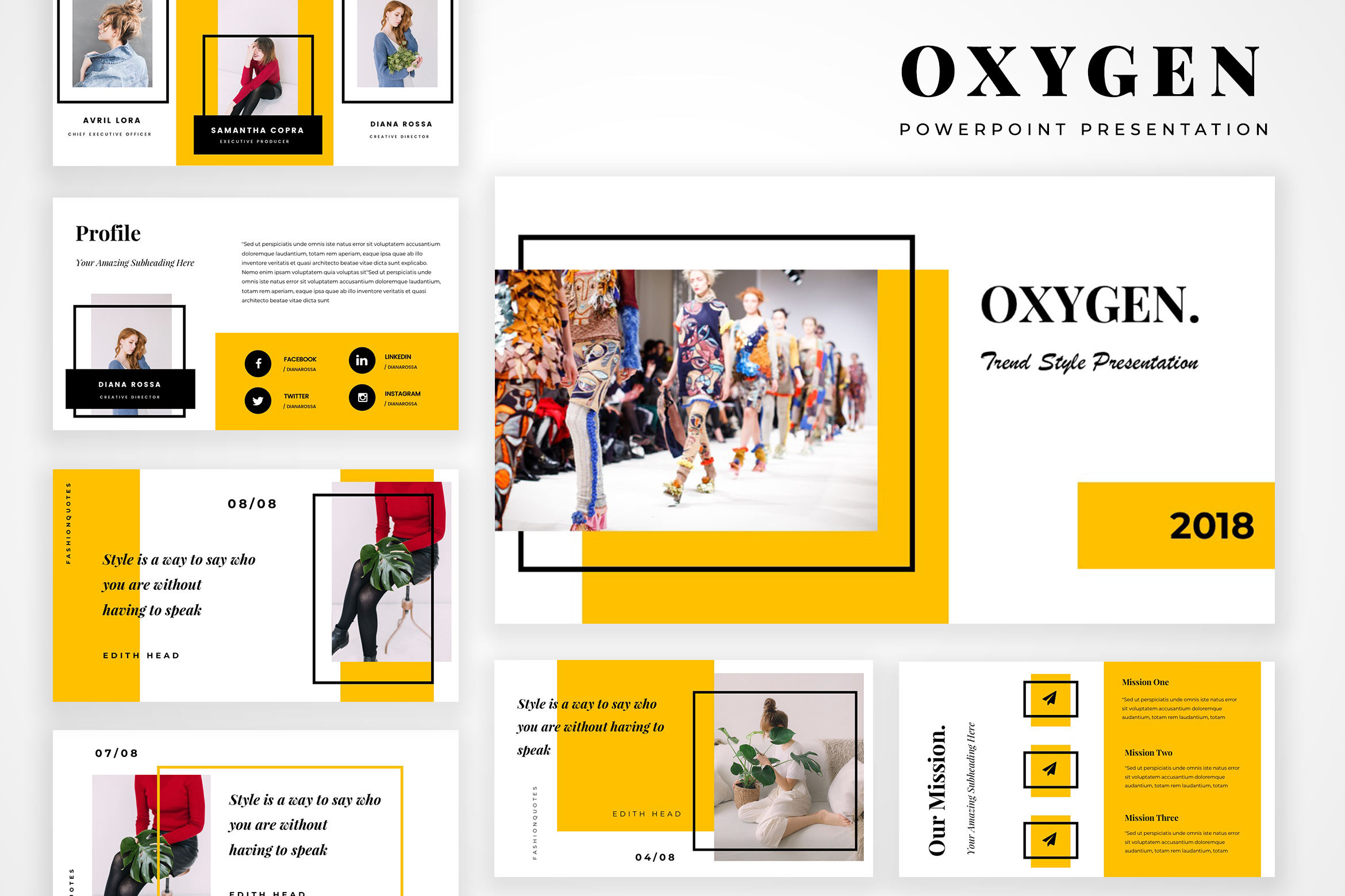 Download Free Oxygen Powerpoint Presentation Graphic By Tmint Creative Fabrica for Cricut Explore, Silhouette and other cutting machines.