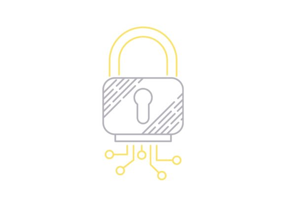 Print on Demand: Padlock Graphic Icons By Iconika