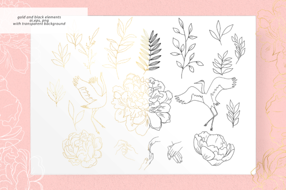Peachy Tenderness Graphic Illustrations By BilberryCreate - Image 5