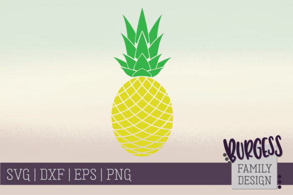 Pineapple Clipart Graphic Crafts By burgessfamilydesign