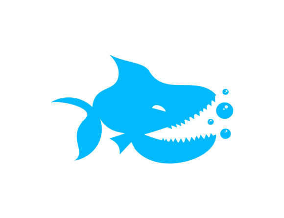 Download Free Piranha Logo Graphic By Meisuseno Creative Fabrica for Cricut Explore, Silhouette and other cutting machines.