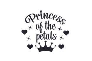 Princess of the Petals Wedding Craft Cut File By Creative Fabrica Crafts