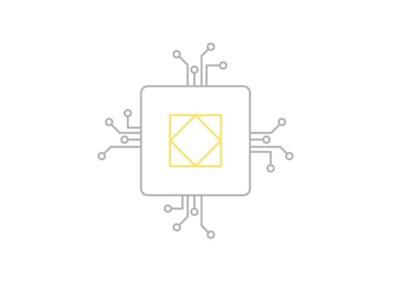 Print on Demand: Processor Graphic Icons By Iconika