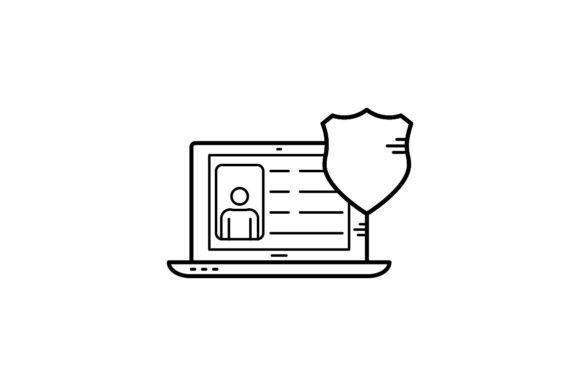 Print on Demand: Profile Protection Graphic Icons By khld939