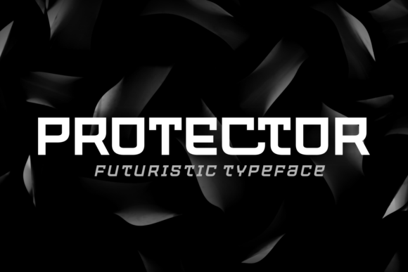 Print on Demand: Protector Sans Serif Font By Situjuh