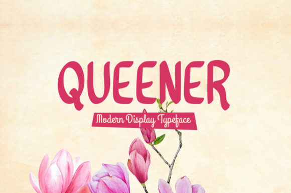 Print on Demand: Queener Display Font By Shattered Notion