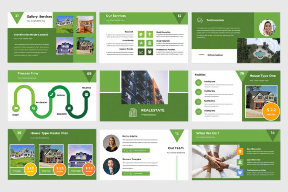 Real Estate Powerpoint Presentation Graphic Presentation Templates By TMint - Image 2