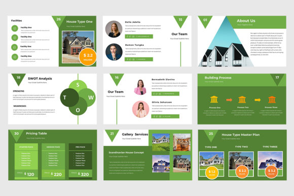 Real Estate Powerpoint Presentation Graphic Presentation Templates By TMint - Image 4