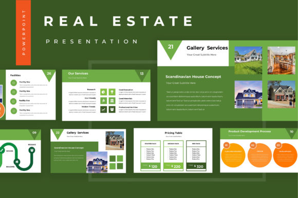 Real Estate Powerpoint Presentation Graphic By TMint