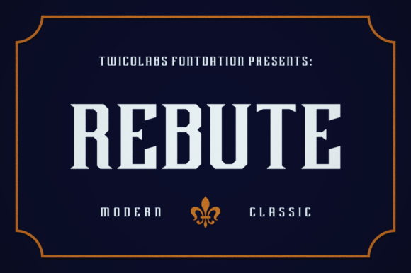 Print on Demand: Rebute Serif Font By Fontdation