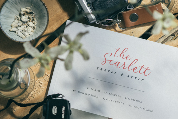 Print on Demand: Red Camellia Script & Handwritten Font By ironbirdcreative - Image 7