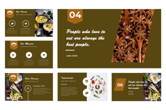 Resto Powerpoint Presentation Graphic Presentation Templates By TMint - Image 2