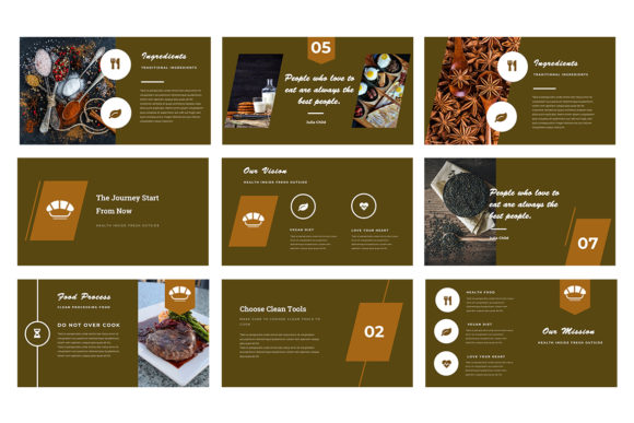 Resto Powerpoint Presentation Graphic Presentation Templates By TMint - Image 3
