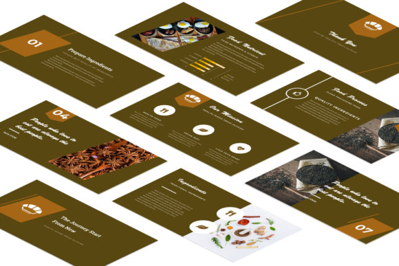 Resto Powerpoint Presentation Graphic Presentation Templates By TMint - Image 4