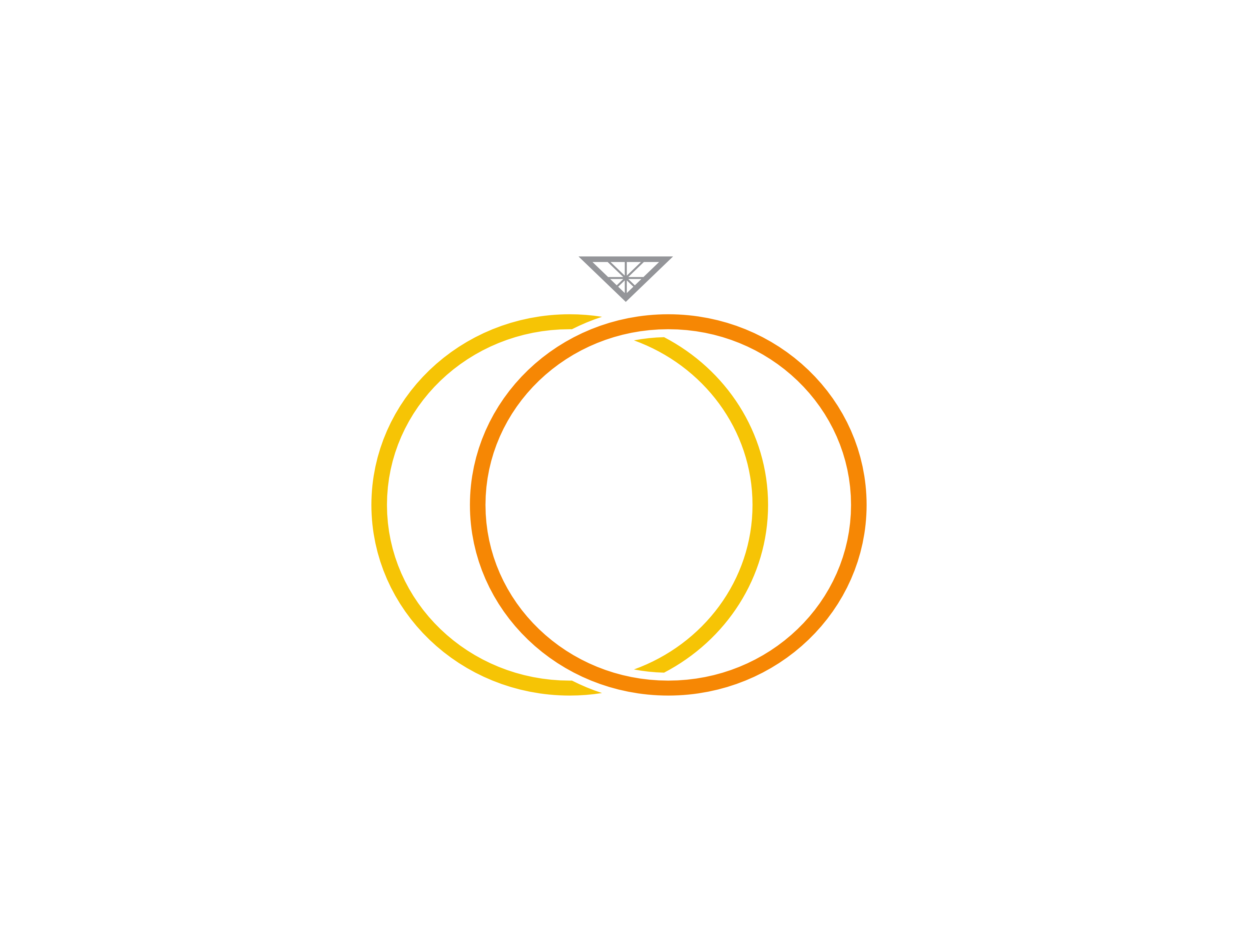 Download Free Ring With Diamond Logo Graphic By Meisuseno Creative Fabrica for Cricut Explore, Silhouette and other cutting machines.