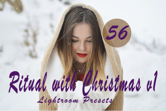 Ritual with Christmas V.1 Lightroom Presets Graphic Actions & Presets By Lumazin Ribak