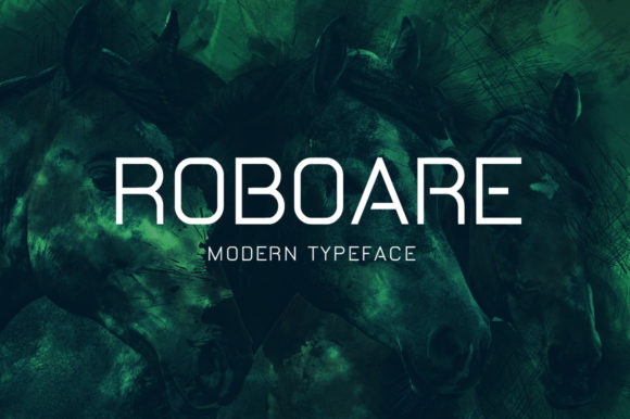 Print on Demand: Roboare Display Font By Shattered Notion
