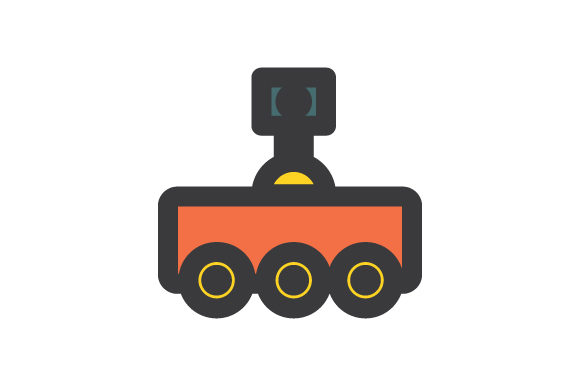 Download Free Robot Icon Vector Graphic By Rudezstudio Creative Fabrica for Cricut Explore, Silhouette and other cutting machines.