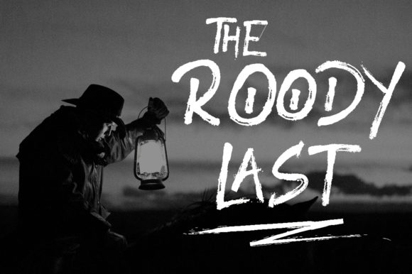 Roody Last Display Font By attypestudio