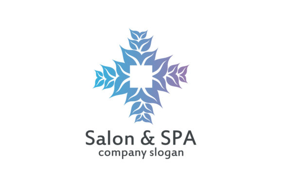 Download Free Salon Spa Logo Graphic By Friendesigns Creative Fabrica for Cricut Explore, Silhouette and other cutting machines.