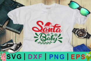 Santa Baby Christmas SVG Graphic By Design Palace