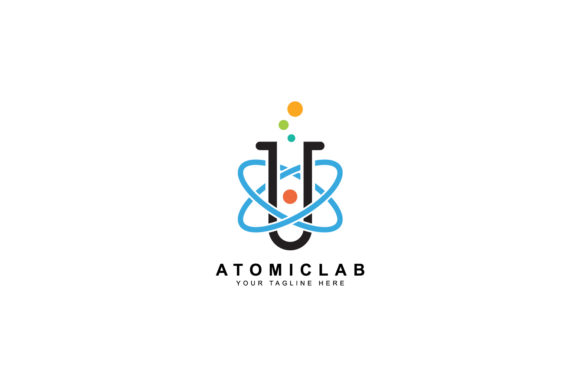 Science Lab Logo Design Graphic By Sabavector Creative Fabrica