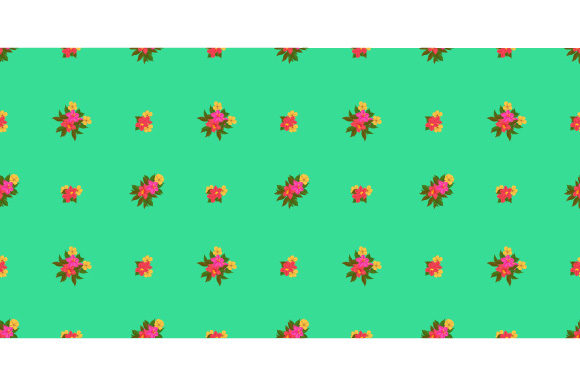 Print on Demand: Seamless Floral Pattern Graphic Patterns By iop_micro