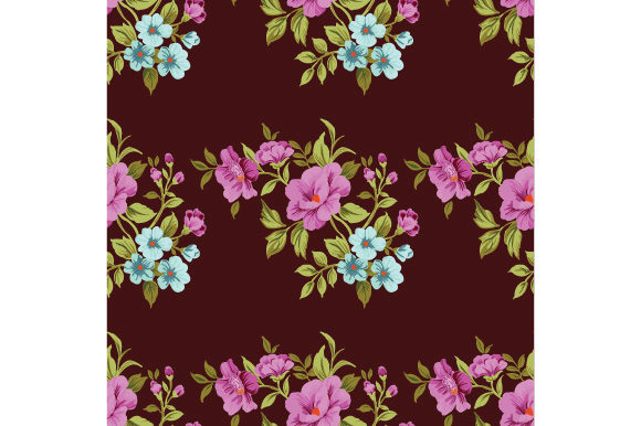 Print on Demand: Seamless Floral Pattern. Graphic Patterns By iop_micro