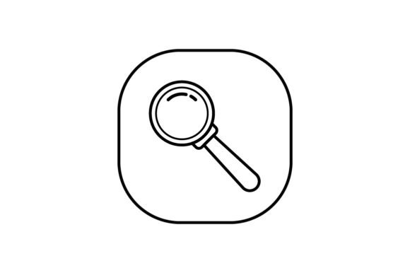 Print on Demand: Search Graphic Icons By khld939