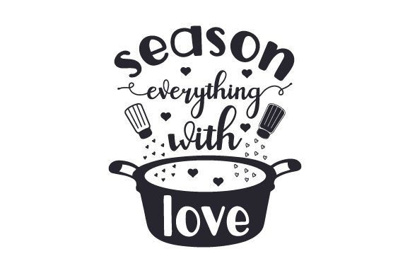 Season Everything with Love Plotterdesign von Creative Fabrica Crafts