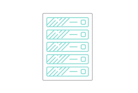 Print on Demand: Server Graphic Icons By Iconika