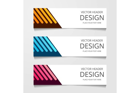 Download Free Set Of Modern Global Business Design Banner Template Graphic By for Cricut Explore, Silhouette and other cutting machines.